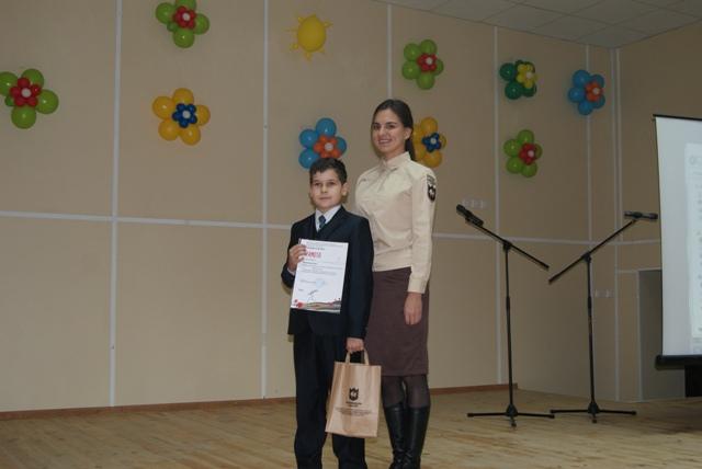 Награждение победителей конкурса «Живая степь», Оренбургский заповедник.